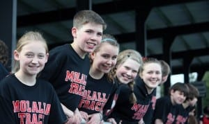 Kids from Molalla river