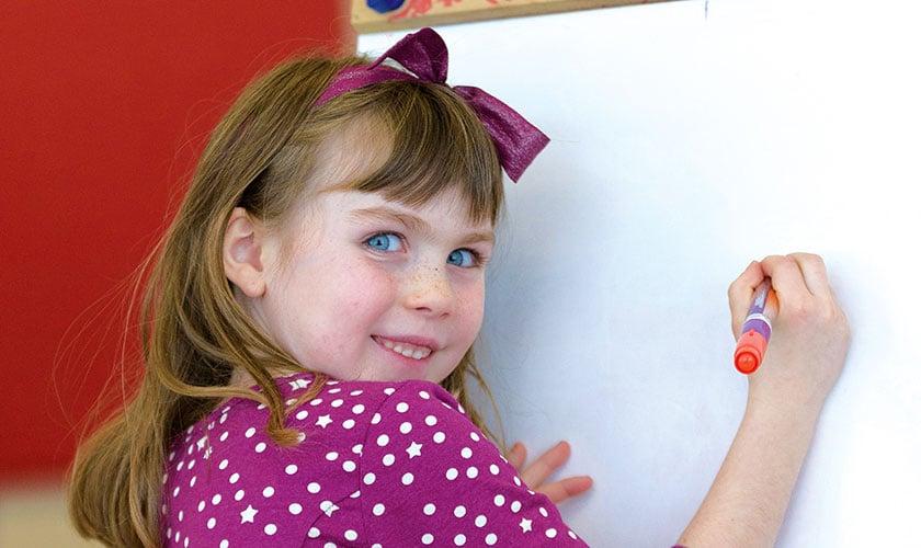 little girl student from Ottawa-carlton
