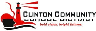 logo for clinton community schools