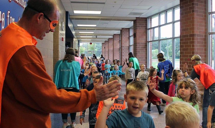 north branch area schools kids