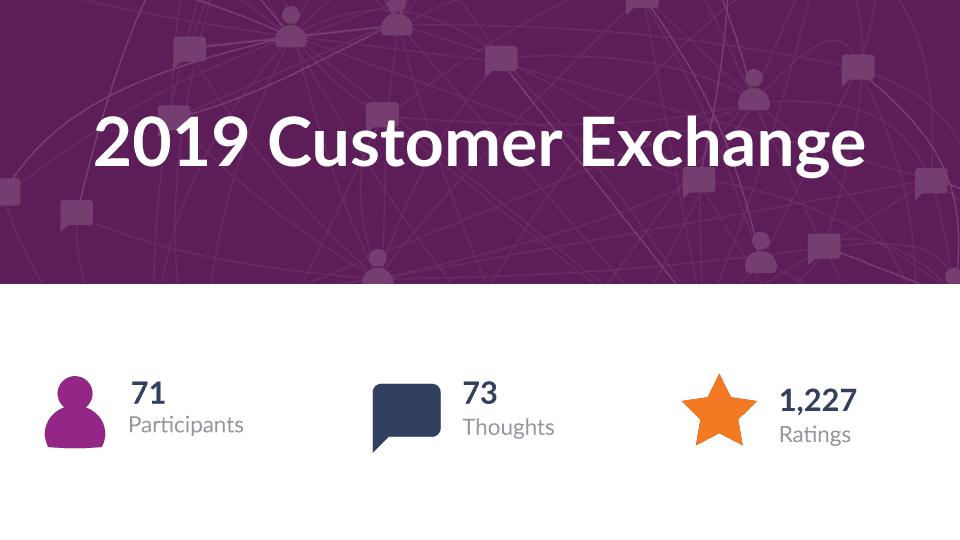 2019 Customer Exchange
