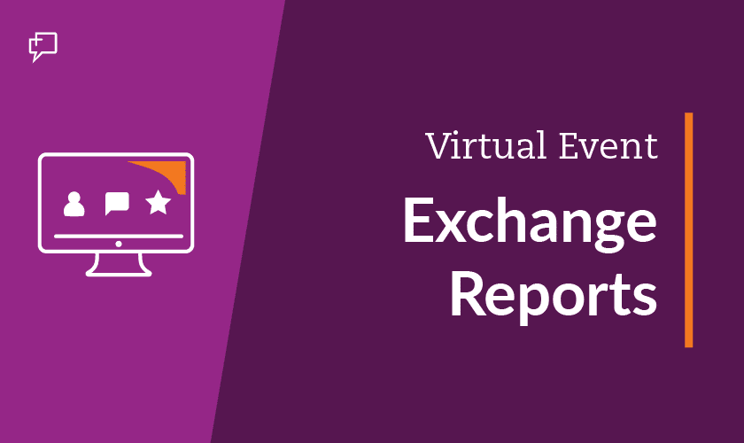 Virtual Event - Exchange Report Graphic
