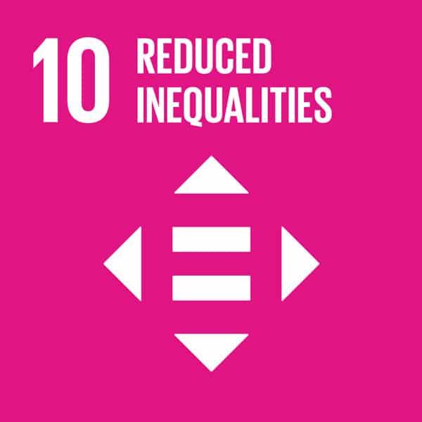 SDG Goal 10 - Reduced Inequalities